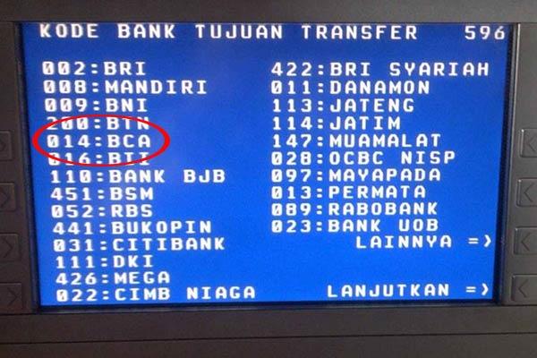 Kode Bank BCA Terbaru dan Terlengkap Untuk Transfer 2020 ...