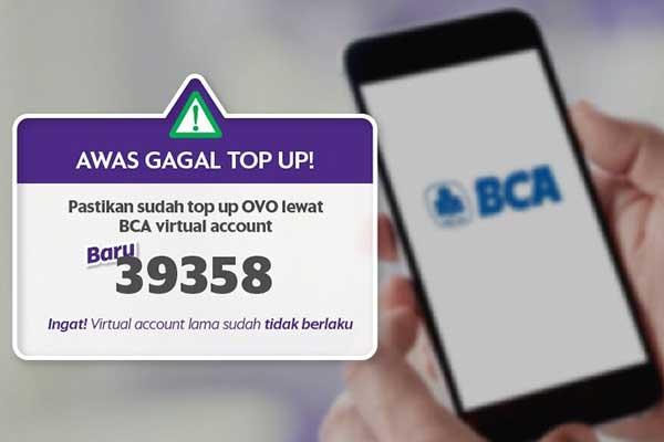 Kode Transfer BCA ke OVO Langkah langkah Transfer