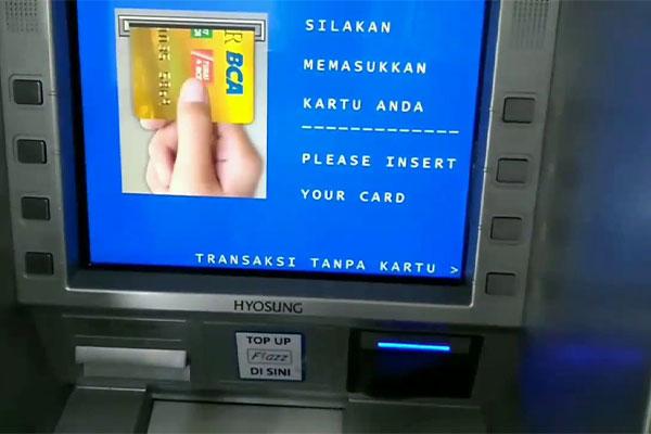 Cara Bayar via ATM BCA 1