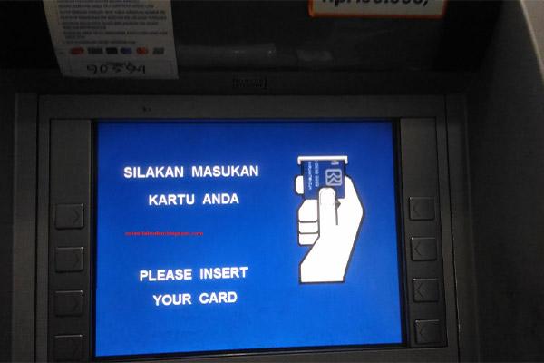 Cara Bayar via ATM BRI 1