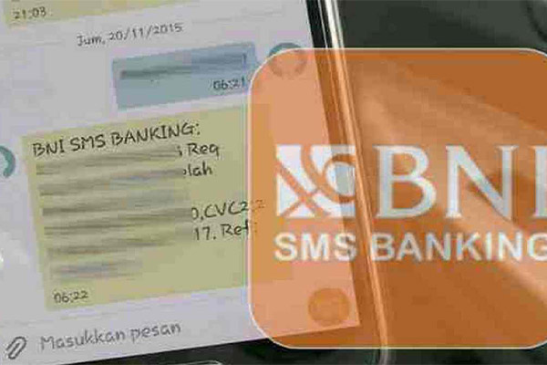 Cara Bayar via SMS Banking BNI
