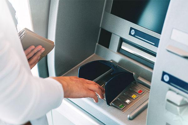 Melalui Jaringan ATM Prima