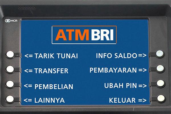 Pembayaran FIF Melalui ATM BRI