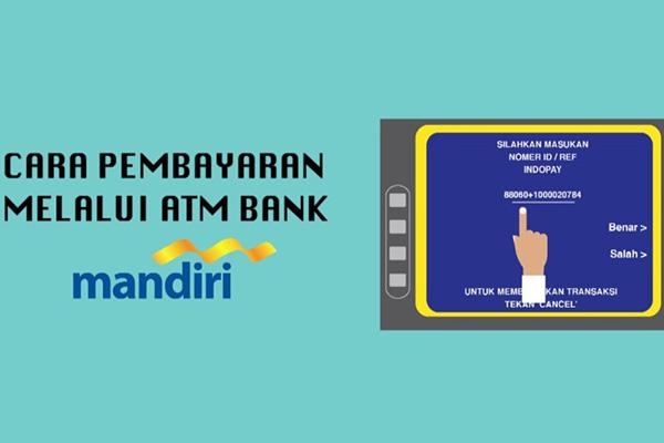 Pembayaran MNC Play via ATM Mandiri
