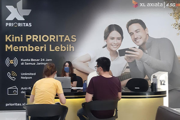 Pembayaran XL Prioritas Lewat Prioritas Center