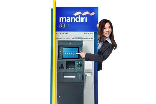 Pembayaran lewat ATM Mandiri