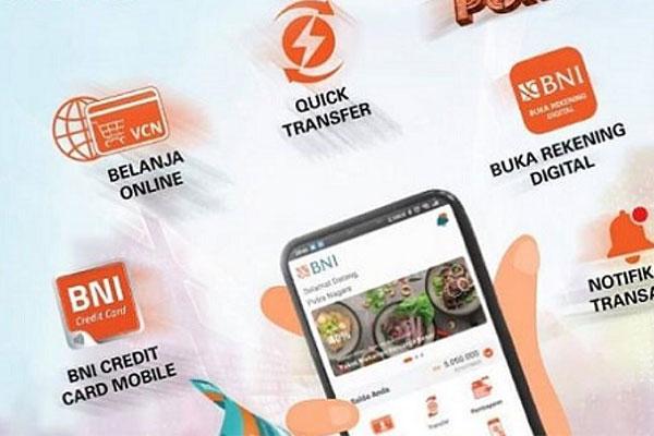 Pembayaran lewat BNI Mobile