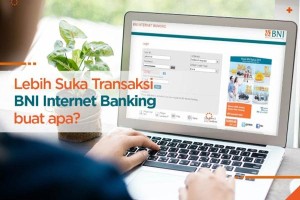 Pembayaran lewat Internet Banking BNI