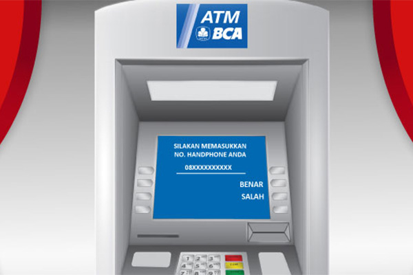 Pembayaran via ATM BCA