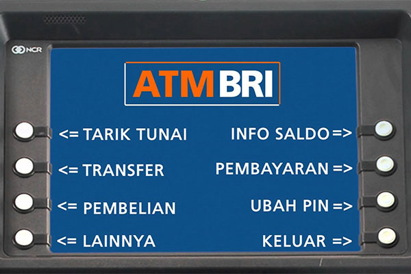 Pembayaran via ATM BRI