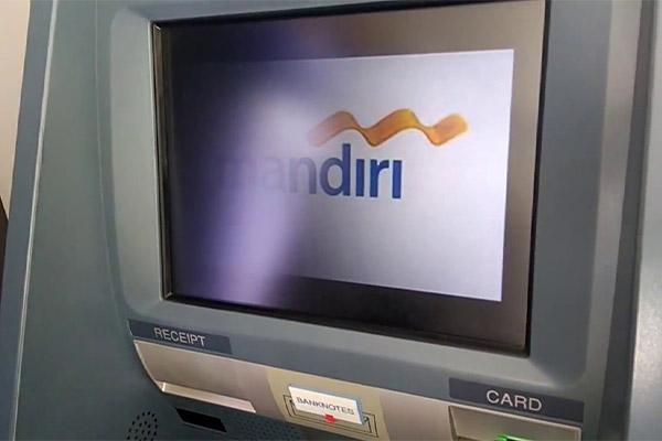 Pembayaran via ATM Mandiri