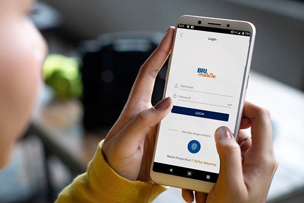 Pembayaran via BRI Mobile