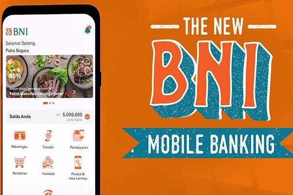 Pembayaran via Mobile Banking BNI