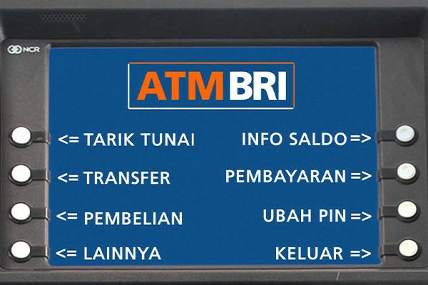 Cara Bayar via ATM BRI