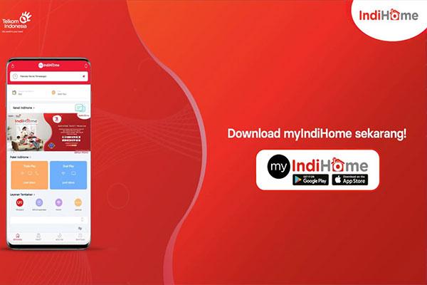 Cara Bayar via Aplikasi MyIndihome
