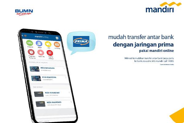Cara Bayar via Mandiri Online Mobile