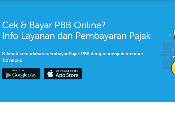 Pembayaran PBB Online Melalui Traveloka