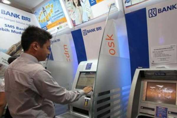 1. Daftar Melalui ATM
