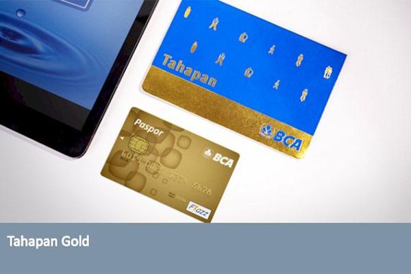 ATM BCA Tahapan Gold