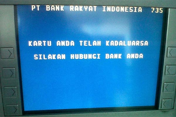 Akibat Dari Kartu ATM yang Berstatus Disable