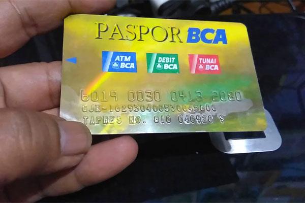 Cara Melihat Nomor Kartu ATM BCA