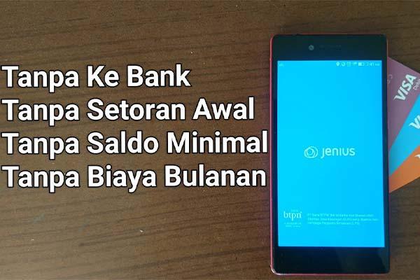 Cara Membuat Kartu ATM Virtual Jenius