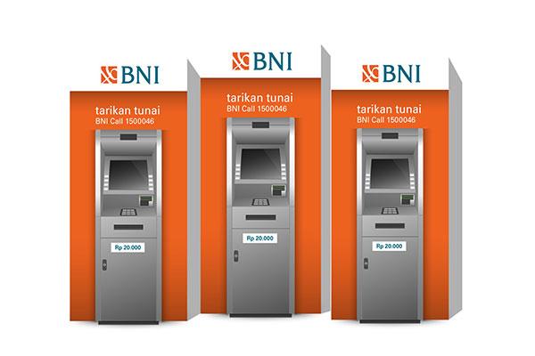 Cara Tarik Tunai di ATM BNI
