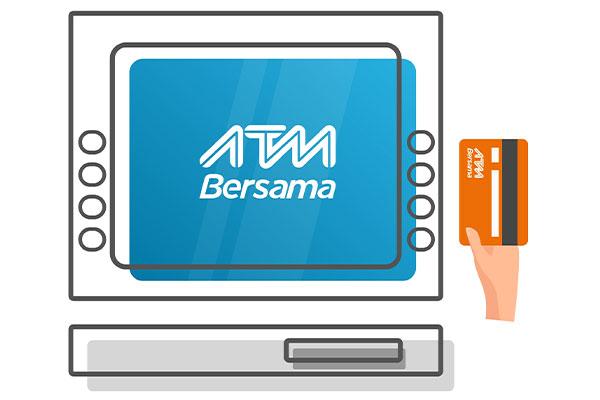 Cara Tarik Tunai di ATM Bersama
