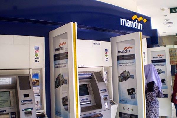 Cara Tarik Tunai di ATM Mandiri