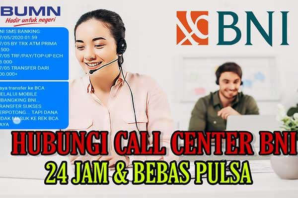 Layanan 24 Jam BNI Call