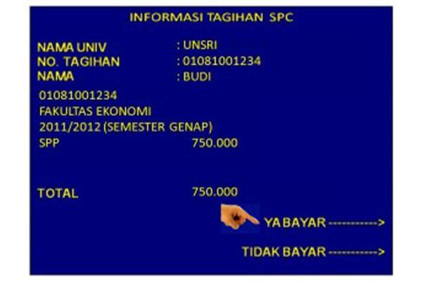 konfirmasi pembayaran dengan memilih Ya Bayar.