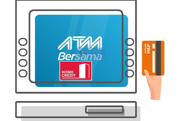 Cara Bayar Home Credit Melalui Transfer Bank ATM Bersama
