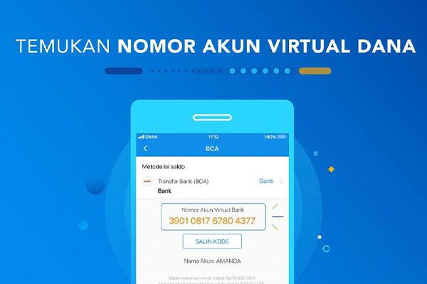 Cara Membuat Virtual Account DANA