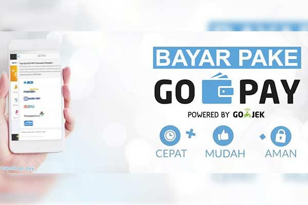 Melalui Aplikasi GoPay