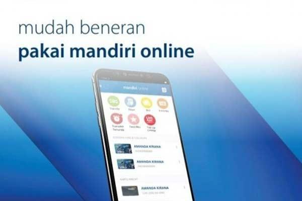 Melalui Aplikasi Mandri Online
