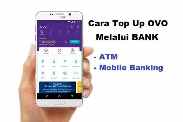 Begini Cara Top Up OVO Lewat ATM Bank Lengkap Dengan Biaya Minimal Transaksi