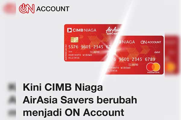 CIMB Niaga On Account