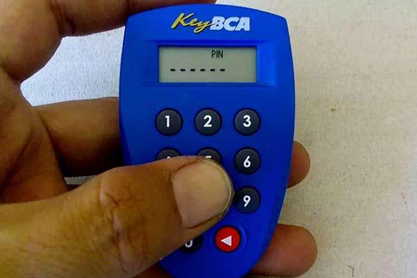 Input PIN Key BCA