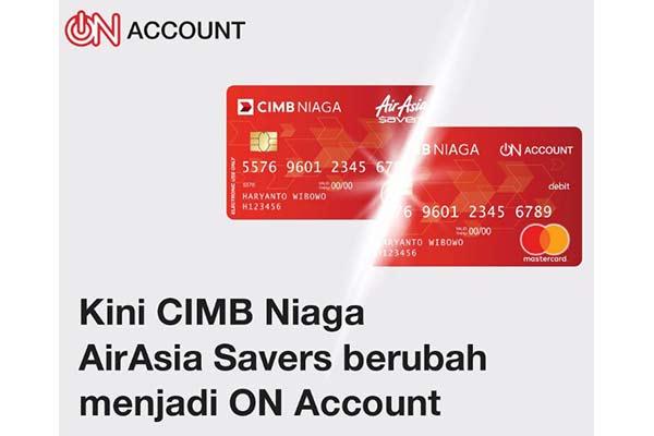 Rekening CIMB Niaga On Account