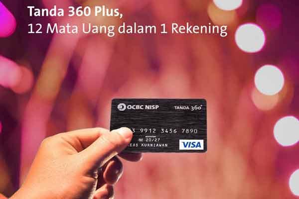 Tanda 360 Plus Bank OCBC NISP