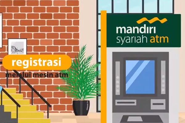 Cara Daftar SMS Banking Mandiri Syariah