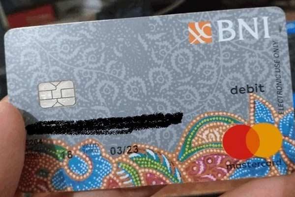 Cara Mengetahui No Kartu ATM BNI 16 Digit
