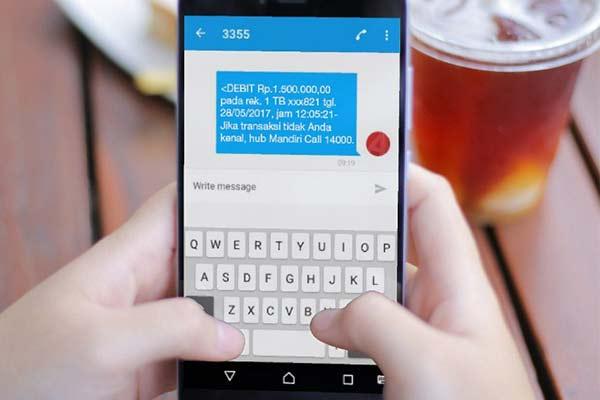 Kelebihan Kekurangan Layanan SMS Banking Mandiri