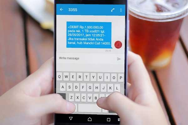 Manfaat Keuntungan Memiliki Akses SMS Banking Mandiri