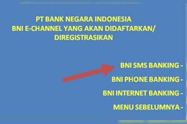 Syarat Tata Cara Registrasi SMS Banking BNI