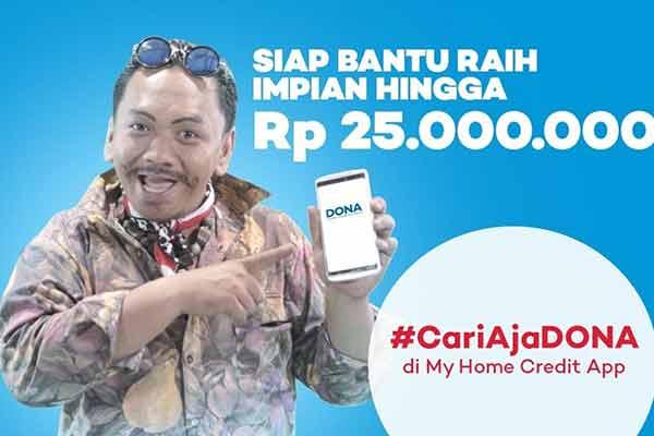 Pinjam Uang DONA Home Credit Indonesia