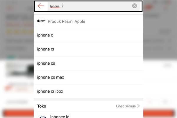 Jalankan Aplikasi Shopee