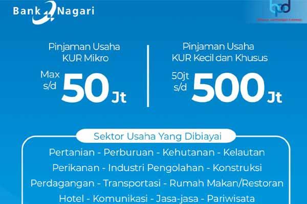 Jumlah Pinjaman KUR Bank Nagari