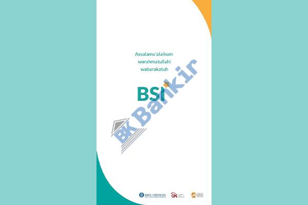 1. Buka Aplikasi BSI Mobile 1