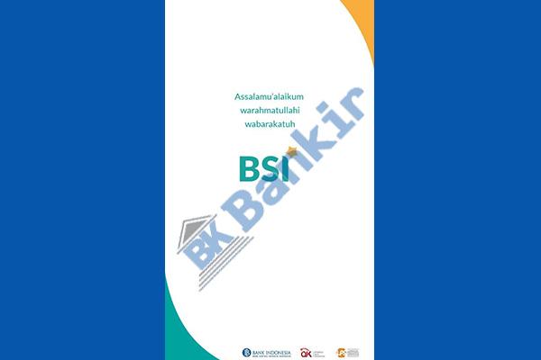 1. Buka Aplikasi BSI Mobile 2